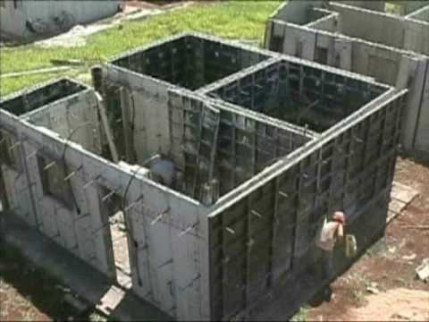 Casas monoliticas de concreto