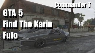 GTA 5 Find the Karin Futo Spawn Area ( GTA V ) with commentary