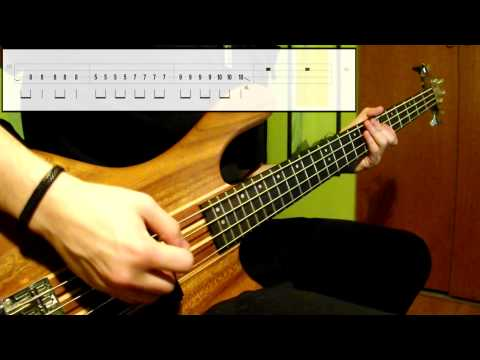 Foo Fighters - The Pretender (Bass Cover) (Play Along Tabs In Video)