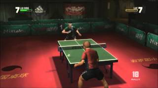 Rockstar Table Tennis - Yes... Table Tennis Round 1