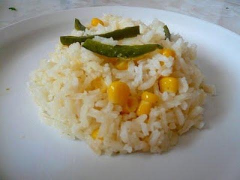 Receta de la Sopa de Arroz Blanco