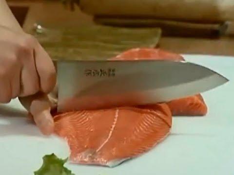 Японские ножи и японская кухня -- гармония в деталях
