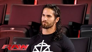 Seth Rollins reflects on the destruction of The Shield: Raw, July 18, 2016