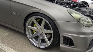 800HP 2006 Mercedes-Benz CLS-55 AMG Weistec Eurocharged Supercharged Nitrous & M-1 Designs Custom