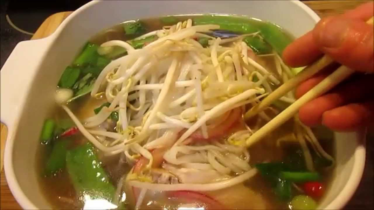 How to Make The Best PHO GA Vietnamese Chicken Noodle Soup - YouTube