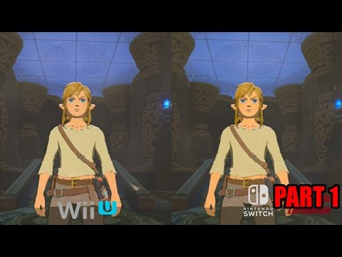 Zelda Breath of the Wild - Final Wii U Version vs Switch Graphics Comparison