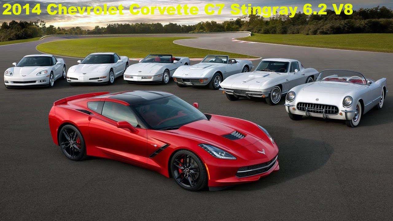 Chevrolet Corvette Evolution 1953-2014 - YouTube