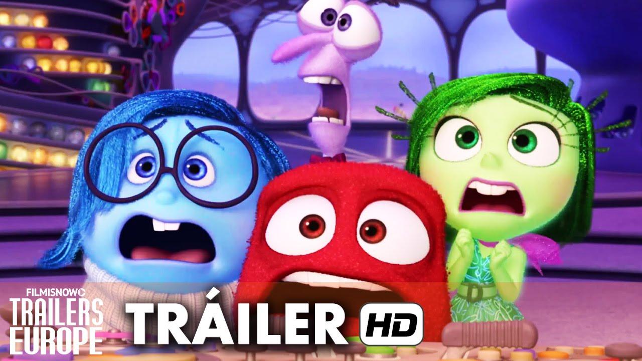 Del Revés (Inside Out) Tráiler DVD España (2015) HD