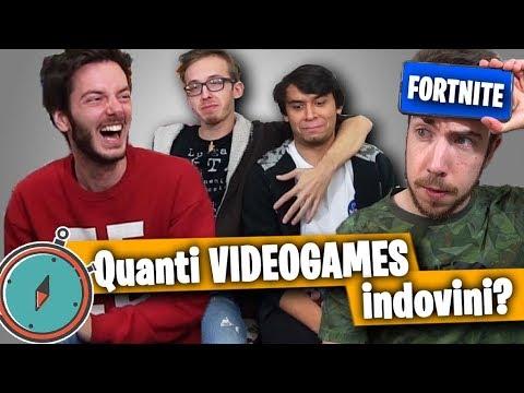 QUANTI VIDEOGAMES INDOVINI IN 1 MINUTO? - Charades