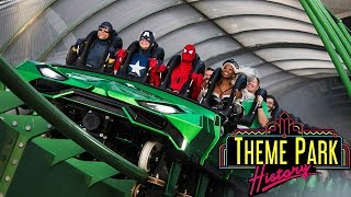 The Theme Park History of The Incredible Hulk Coaster (Universal's Islands of Adventure)