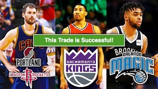 NBA Trade Machine #6: Kevin Love, Otto Porter Jr., D'Angelo Russell