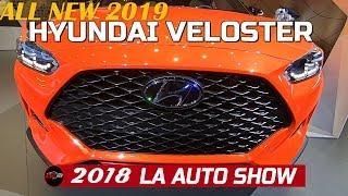 2019 Hyundai Veloster Exterior and Interior Walkaround   2018 LA Auto Show