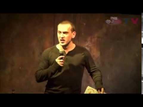 Олег Есенин в репортаже с открытого микрофона Студии юмора   Стендап интервью