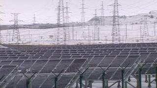 В городе Орске введена в строй самая современная в стране солнечная электростанция