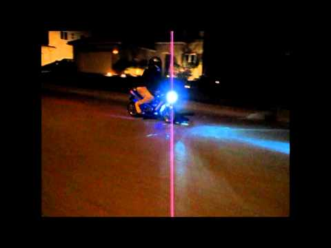 X18 Super Pocket Bike Ride At Midnight