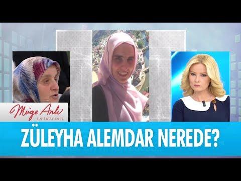 Züleyha Alemdar nerede? - Müge Anlı İle Tatlı Sert 20 Aralık 2017