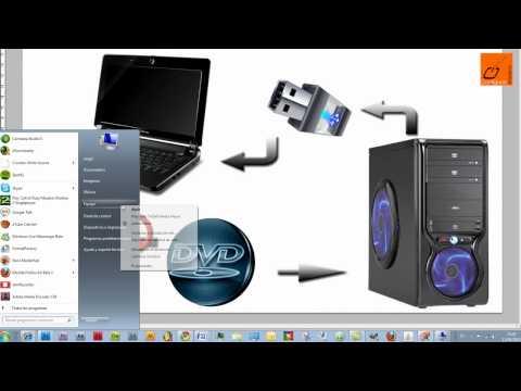 Instalar programas DVD/CD en netbook sin lector