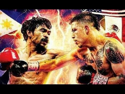 BEST OF Manny Pacquiao vs Brandon Rios -Highlights