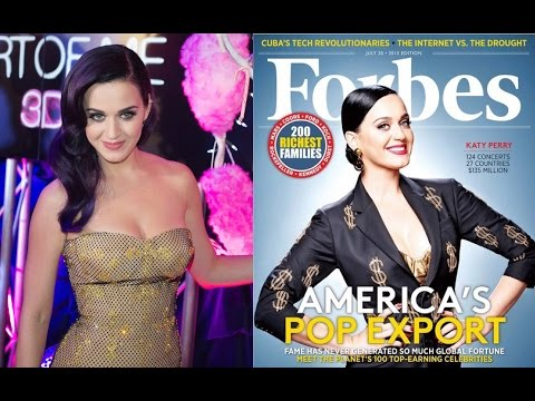 Katy Perry is the world's richest female celebrity