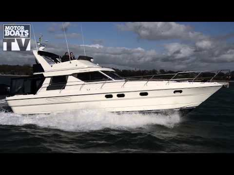 Princess 45 Used boat test with Motor Boats Monthly