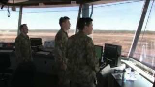 TS11 RAAF Tindal Air Traffic Control in action