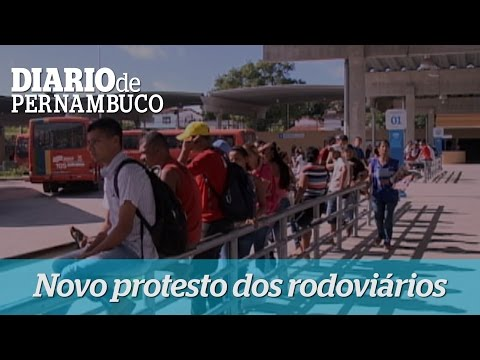 Rodovi�rios decidem paralisar atividades nesta sexta-feira