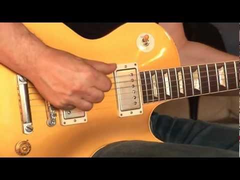 No2: 2012 Gibson Les Paul Custom Shop Lee Roy Parnell Signature 1957 Reissue Goldtop Part1