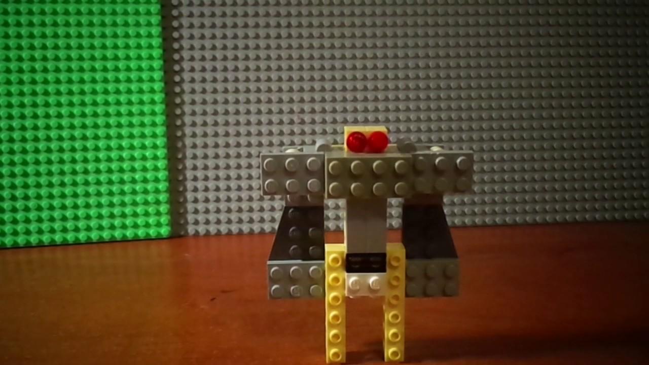 Как сделать из лего робота по своему