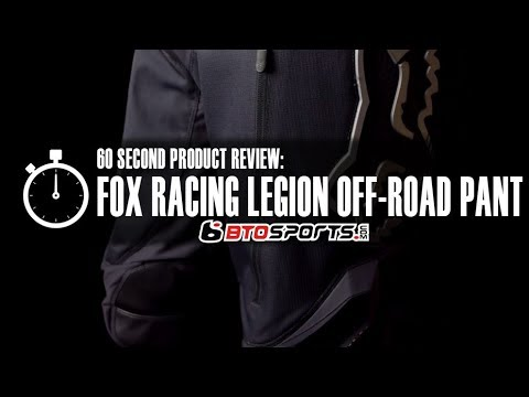 Fox Racing Legion Off-Road Pants | 60 Second Product Review