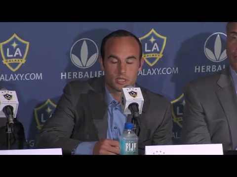 LA Galaxy press conference |  Aug. 7, 2014