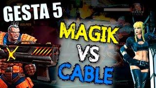 Magik vs Cable | MiniBoss 2, Gesta 5 - Marvel Contest of Champions