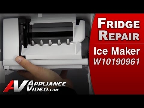 Ice Maker - Refrigerator Repair (Whirlpool # W10190961 Replacement Part)