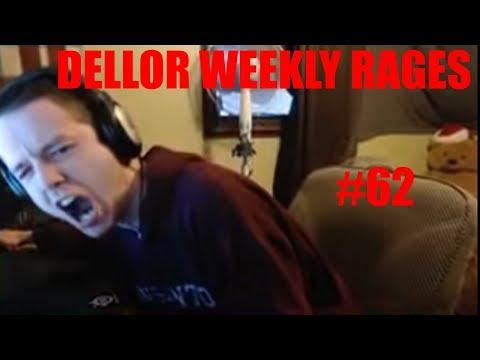 DELLOR FORTNITE RAGE COMPILATION Dellor Weekly #62