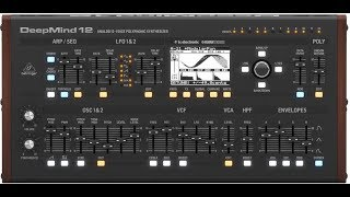 Behringer Deepmind: How does it sound? (All Playing, no Talking)