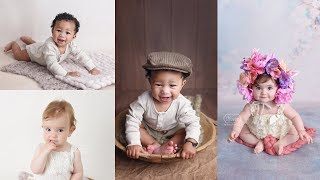 How to photograph a 6-9 month old baby (BTS sitter session/milestone photoshoot)