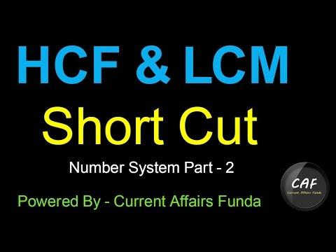 LCM HCF (Number System Part 2)  for (IBPS,SSC CGL,CSAT,SBI PO,Railway,NDA,PCS,MAT) thumbnail