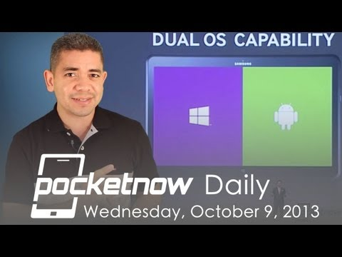 iPad 5 leaks. Galaxy Round announcement. Dual-boot Android-WP8 & more - Pocketnow Daily