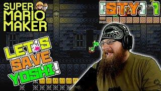 LET'S SAVE YOSHI! - Super Mario Maker - Save the Yoshi Contest Levels with Oshikorosu!