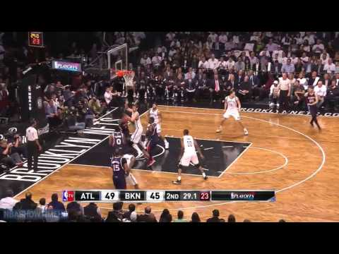 Atlanta Hawks vs Brooklyn Nets - Full Highlights - Game 4 - April 27, 2015 - 2015 NBA Playoffs