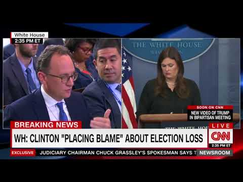 BEASTMODE: Sarah Sanders blasts Hillary Clinton's excuse-making