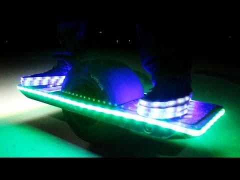 Homemade LED Shoes