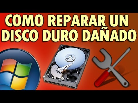 Como Reparar Un Disco Duro Dañado En Windows XP/Vista/7/8/8.1