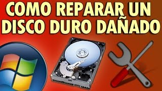 Como Reparar Un Disco Duro Dañado En Windows