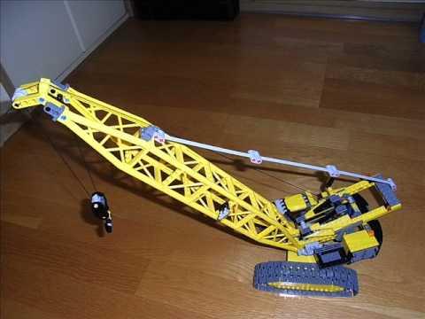 Lego City Crane Lego City 7632 Crawler Crane 3