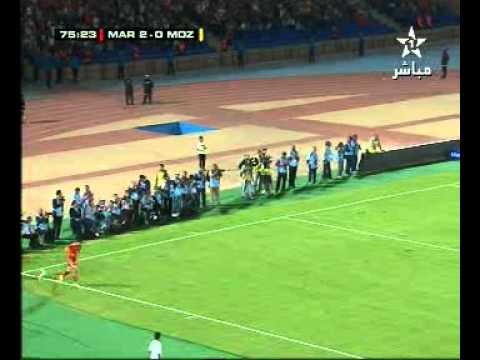 Match Maroc 4 - 0 Mozambique - part 3