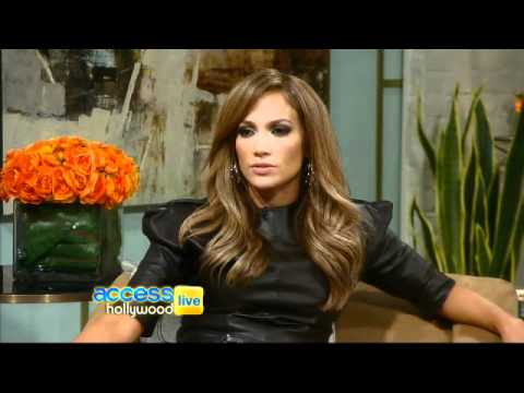 pt 2 - Jennifer Lopez on Access Hollywood Live - 01.18.11 Music Videos