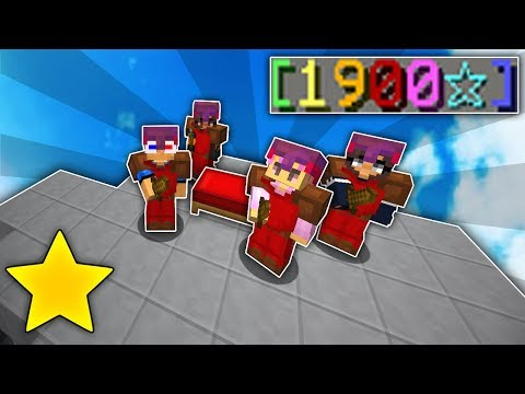Playing Bedwars with a LEGENDARY 1900⭐ Party!