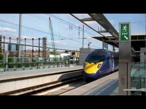 Hitachi Class 395 At  St Pancras International | 14/6/2011