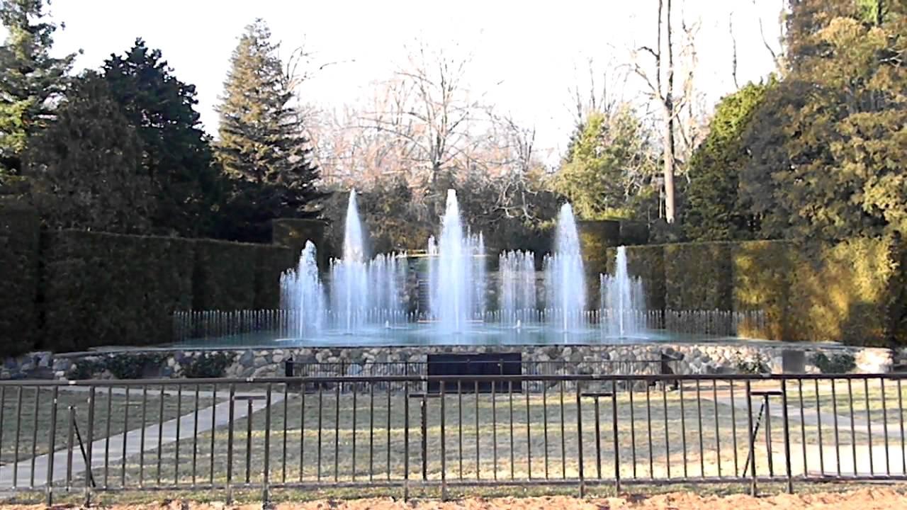 Daytime Fountain Show Longwood Gardens Kennett Square Pa Hd Youtube