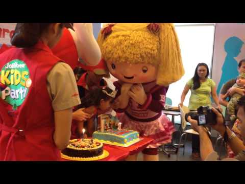 Zhamihra's Jollitown Birthday Party. Happy 3rd!! video
